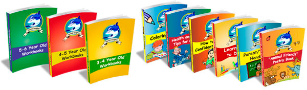 Worksheets for preschool complete set