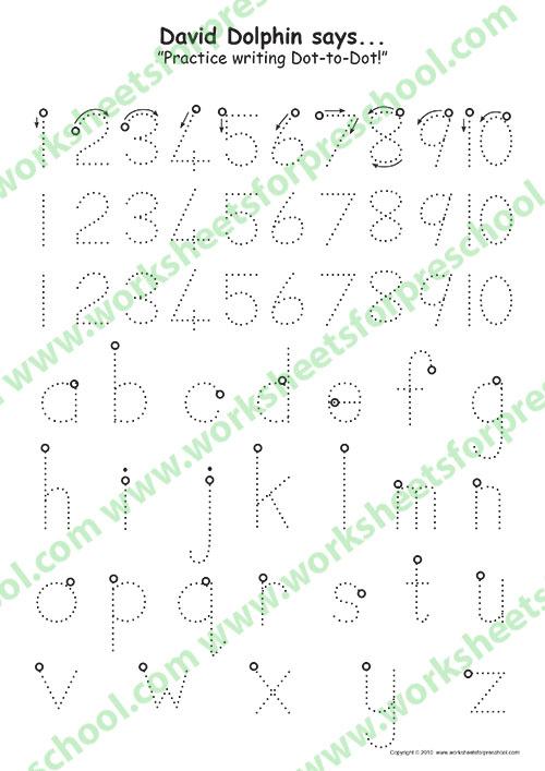 Pre k alphabet worksheets