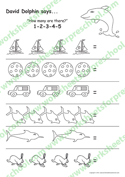Number tracing worksheets pdf