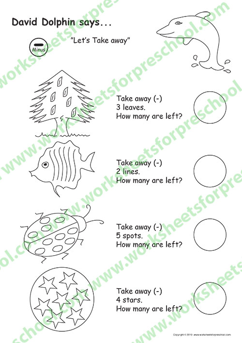 Preschool math worksheets pdf