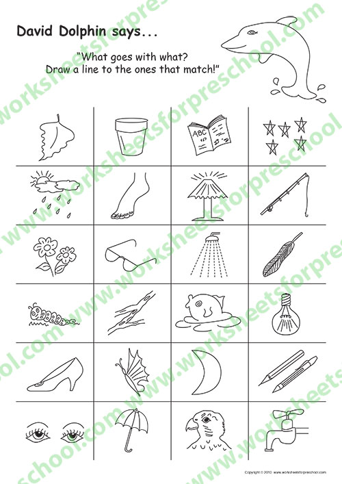Pattern worksheets for kindergarten pdf